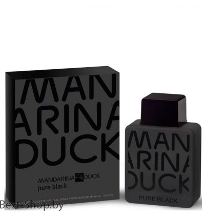 Mandarina Duck Pure Black Man
