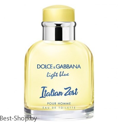D&G Light Blue Italian Zest Pour Homme