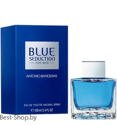 Antonio Banderas Blue Seduction For Men 100мл